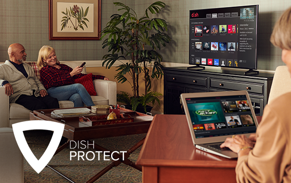 Get DISH Protect from TV MAS SATELLITE, Your Home Entertainment in Los Banos, California